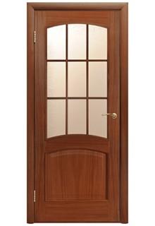 Межкомнатная дверь Капри дуб тон ПО