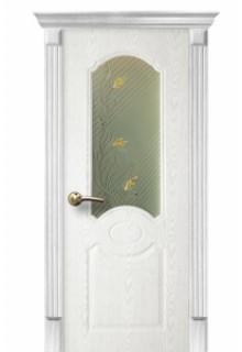 Межкомнатная дверь Лилия белый ясень ПО