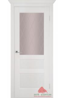 Межкомнаятная дверь Капелла белый ясень ПО